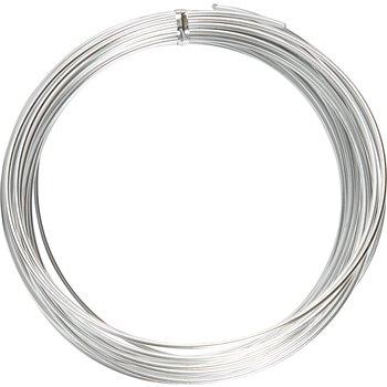 Alambre de aluminio - 10 m