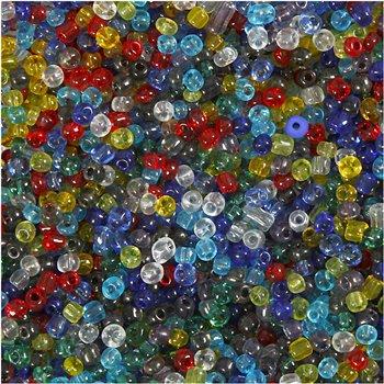 Mezcla de cuentas de rocalla - 1000 gr