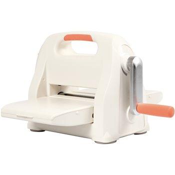 Máquina troqueladora y relieve