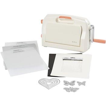 Máquina troqueladora y embossing - Kit de inicio - 1 set