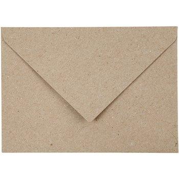 Sobres de papel reciclado - 50 unidades