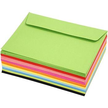 Sobres de colores - 100 unidades