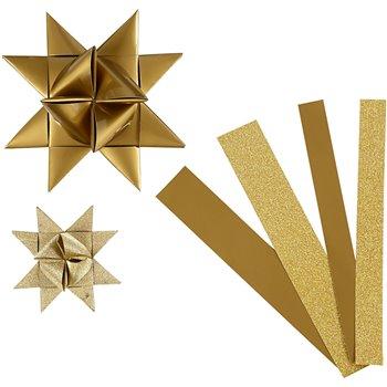 Tiras de papel para estrellas - 40 tiras