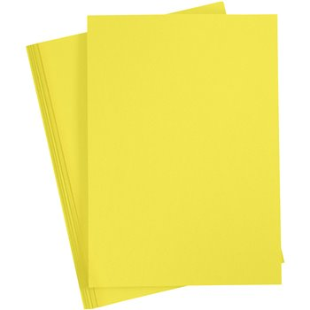 Cartulina de color - 20 hoja