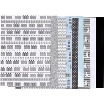 Bloc de papel de diseño - 24 hoja