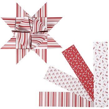 Tiras de papel para estrella - 40 tiras