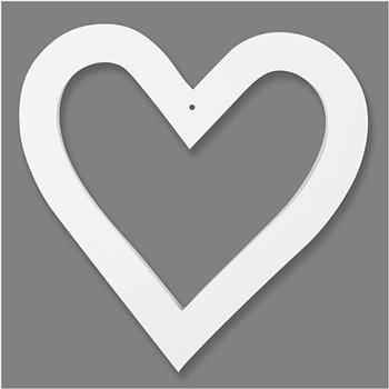 Marco en forma de corazón - 16 unidades