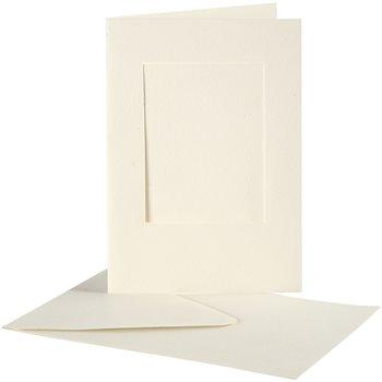 Tarjeta con Passepartout - 10 set