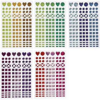 Pegatinas mosaico - 10 hoja