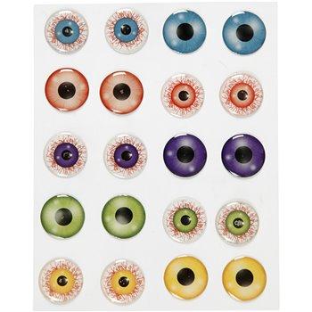 Pegatinas Ojos 3D - 1 hoja