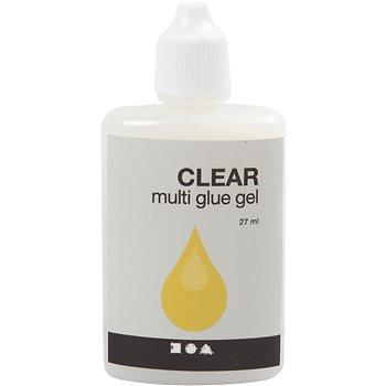 Pegamento transparente- Clear multi gel - 27 ml