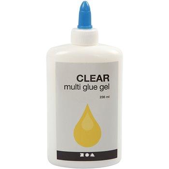 Pegamento transparente- Clear multi gel - 236 ml