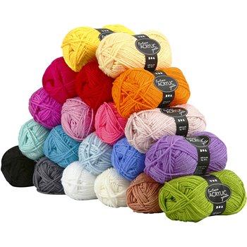 Fantasia lana acrílica - 20x50 gr
