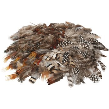 Surtido de plumas - 6 paquetes