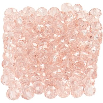 Perlas facetadas - 100 unidades