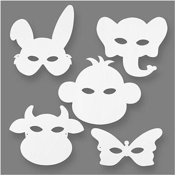 Máscaras de animales - 16 unidades