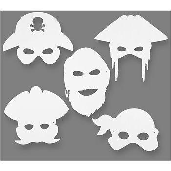 Máscaras pirata - 16 unidades