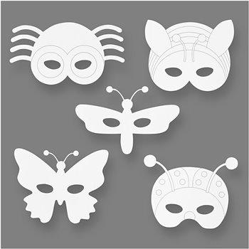 Máscaras de insectos - 16 unidades