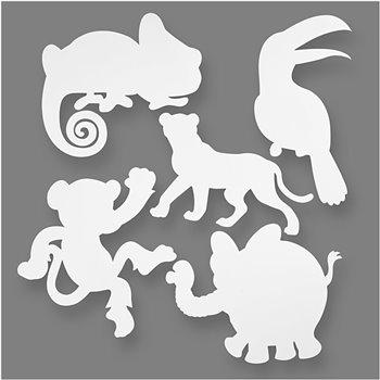 Animales de la jungla - 16 unidades