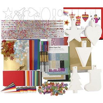 Kit de decoraciones navideñas - 1 set