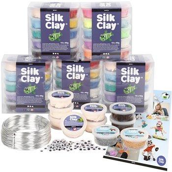 Sets escolares - Personajes en Silk Clay - 1 set