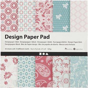 Bloc de papel de diseño - 50 hoja