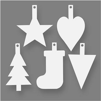 Adornos de navidad - 15 unidades