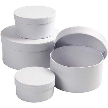 Cajas redondas - 4 unidades