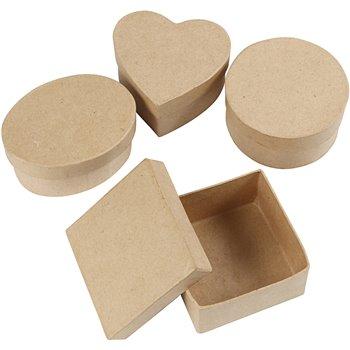 Cajas medianas - 4 unidades