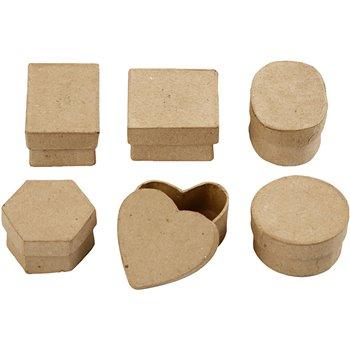 Mini cajas - 6 unidades