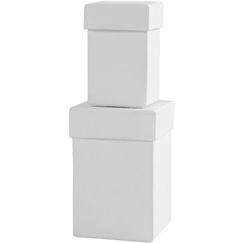 Cajas cuadradas - 2 unidades