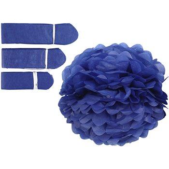 Pompones de seda - 3 unidades