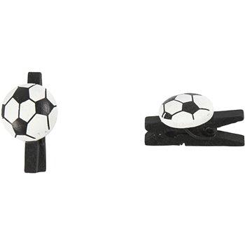 Pinza futbol - 10 unidades