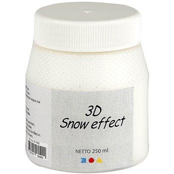 Pintura efecto nieve 3D - 250 ml