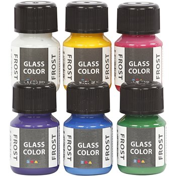 Glass Color Frost - 6x30 ml
