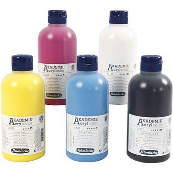 Color acrílico Schmincke AKADEMIE® - 5x500 ml