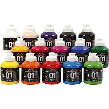 Pintura acrílica A-Color - 15x500 ml