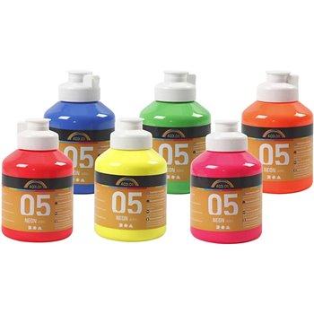 Pintura Acrilica A-Color - 6x500 ml